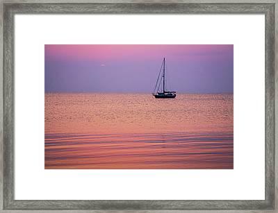 Night's Anchor II Framed Print