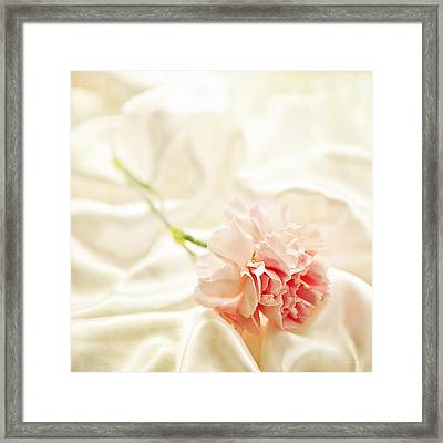 Nights In White Satin Framed Print by Theresa Tahara