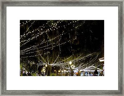Nights Of Light 2 Framed Print by Kenneth Albin