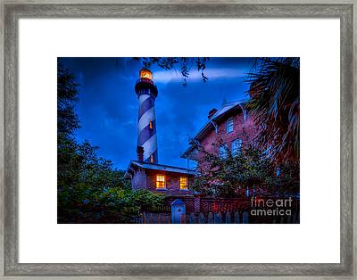 Nightshift Framed Print