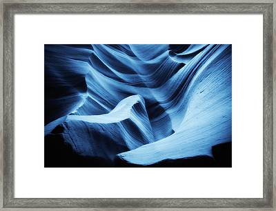 Nightswimming Framed Print by Roger Chenery
