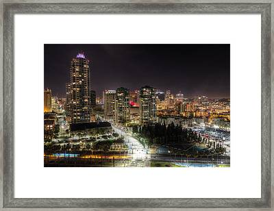 Framed Print featuring the photograph Nighttime by Heidi Smith