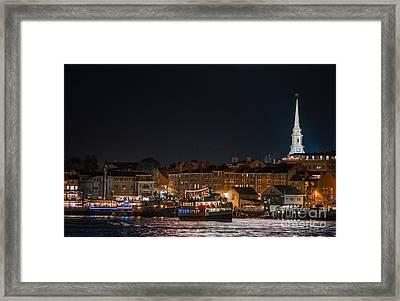 Nighttime Laighton Framed Print