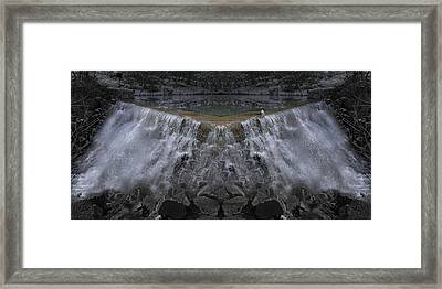 Nighttime Water Tumble Framed Print by Betsy Knapp