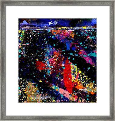 Nighttown V Framed Print by John  Nolan