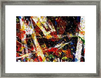 Nighttown  Xv Framed Print by John  Nolan