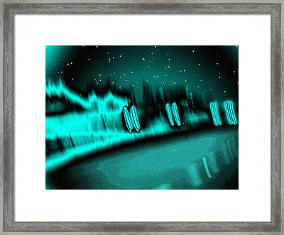 Nightwalkers Framed Print by Wendy J St Christopher