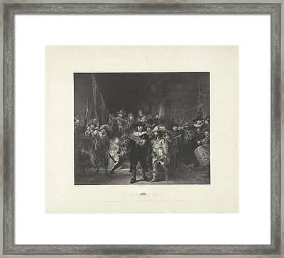 Nightwatch, Adolphe Mouilleron Framed Print