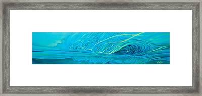 Nightwave Framed Print