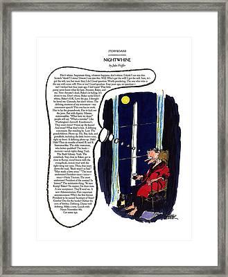 Nightwhine Framed Print