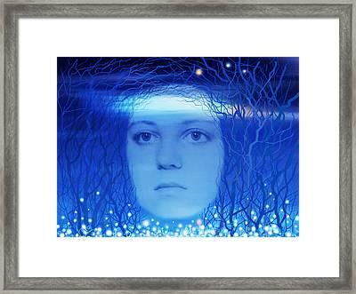 Nigth Framed Print