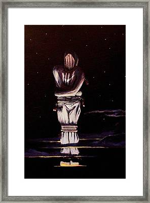 Nike No Wings. Framed Print by Fred Paddock