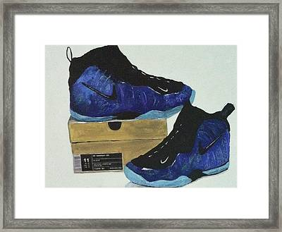 Nike's For Sale Framed Print by Helen Wendle
