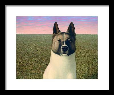 Husky Framed Prints