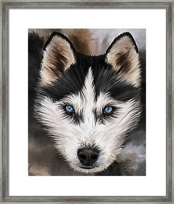 Nikki Framed Print