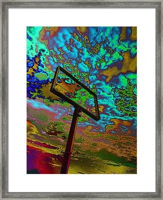Nikki's Cloud Catcher Framed Print