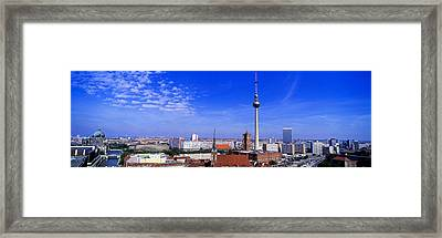 Nikolai Quarter, Berlin, Germany Framed Print by Panoramic Images