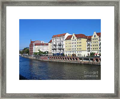 Framed Print featuring the photograph Nikolaiviertel by Art Photography