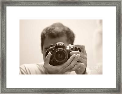 Nikon D7100 Framed Print by Bobby Mandal
