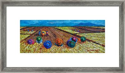 Nilaga Stew Framed Print by Paul Hilario