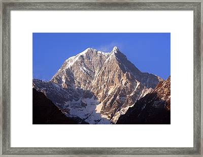 Nilgiri South 6839m Framed Print