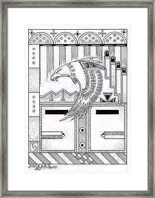 Niman 2 Framed Print by Dalton James
