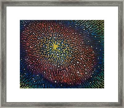 Nimoy Nebula Framed Print
