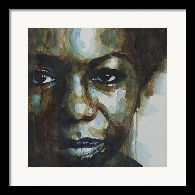 Simone Framed Prints