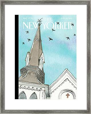 Nine Framed Print