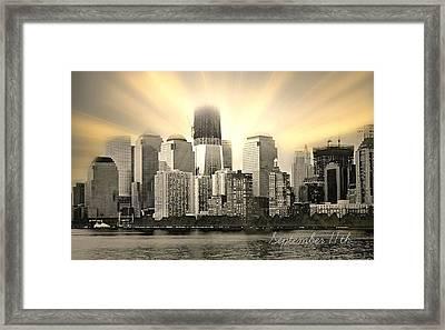Nine Eleven Framed Print by Diana Angstadt