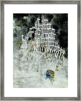 Nine Eleven Framed Print by Jim Bates