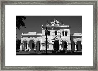 Nine Fourteen Civic Central Framed Print by Lee Stickels
