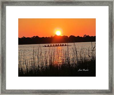 Framed Print featuring the photograph Nine Gifts  by Joetta Beauford