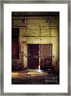 Nine Framed Print by HD Connelly