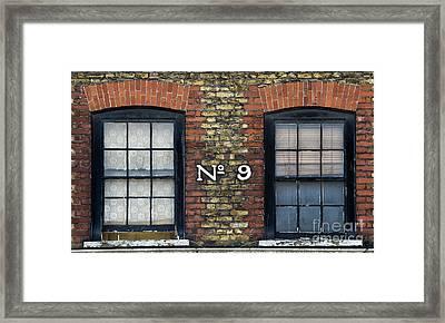 Nine  Framed Print