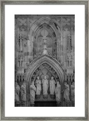 Nine Worthies Bw Cologne Germany Framed Print