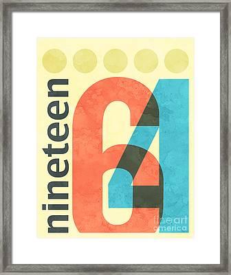 Nineteen 64 Framed Print by Phil Perkins