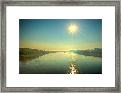 Ninety At Dawn Framed Print