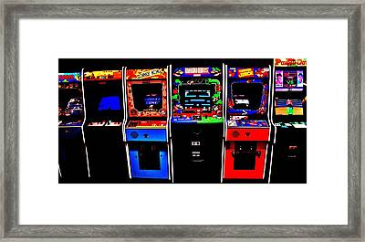 Nintendo Classics Framed Print by Benjamin Yeager