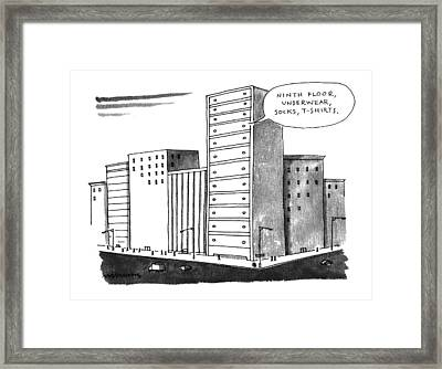'ninth Floor Framed Print
