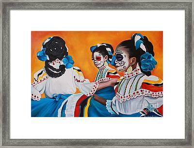 Ninyas Muertas  Framed Print by Barbara  Rivera