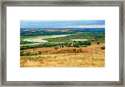 Niobara Framed Print by John M Bailey