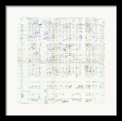 Ribonucleic Acid Framed Prints