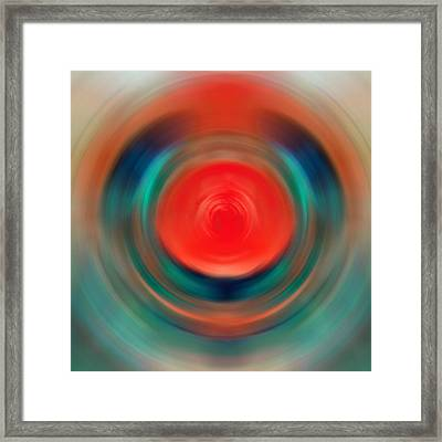 Nirvana - Energy Art By Sharon Cummings Framed Print