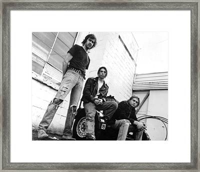 Nirvana Outside  Framed Print