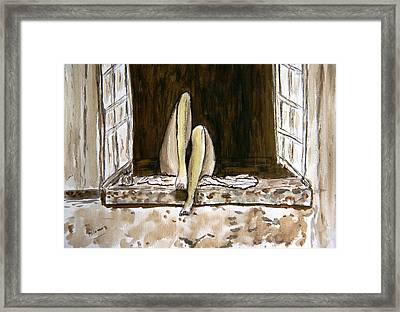 Nirvana. Framed Print by Shlomo Zangilevitch