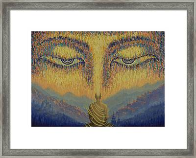 Nirvana Framed Print by Vrindavan Das