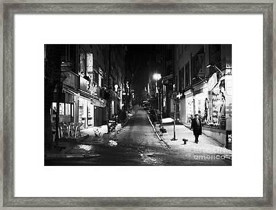 Nisantasi Street Framed Print by John Rizzuto
