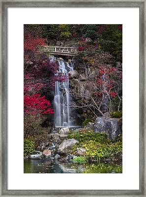 Framed Print featuring the photograph Nishi No Taki by Sebastian Musial