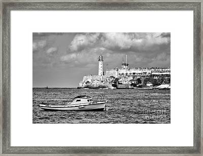 Nisita In Havana Bay Framed Print